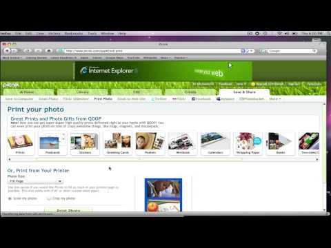 Picnik #3: How To Create A Collage And Share Images Online
