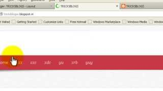 How To Create Navigation Bar in Blogger