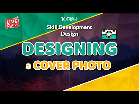 Designing a Cover Photo! (LIVE)