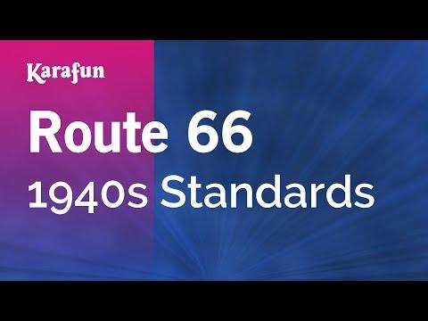 Karaoke Route 66 - 1940s Standards *