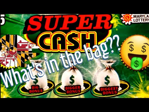 MD LOTTERY SUPER CASH AND CASH CLUB! 🤑🍀