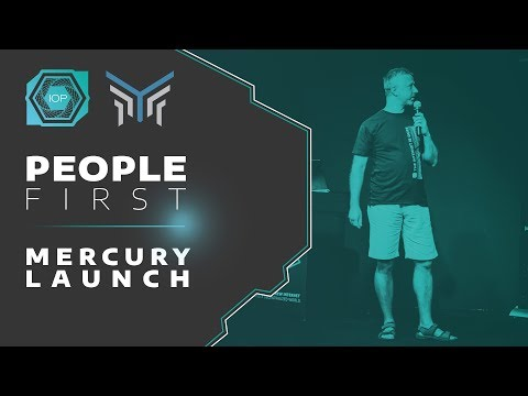 Mercury Launch - People First Conference 2018 | Internet of People