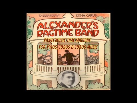 The 1910s Music of Collins & Harlan  Alexanders Ragtime Band @Pax41