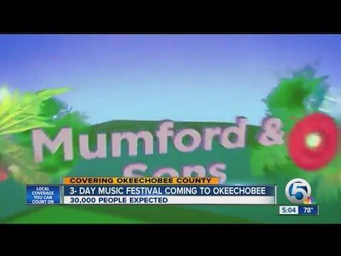 3-day music festival coming to Okeechobee
