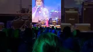 Susan Boyle sings 'Wild Horses' at Scottish Music Awards- McEwan Hall- 12/1/2018