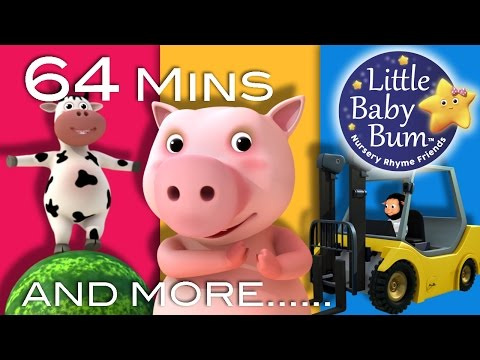 Down By The Bay | Plus Lots More Nursery Rhymes | 64 Minutes Compilation from LittleBabyBum!