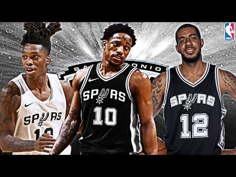 Huge Trade! Demar Derozan San Antonio Spurs Rebuild