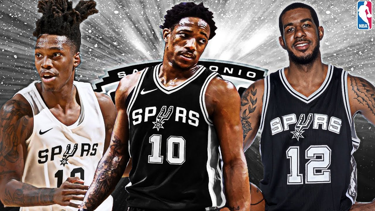 buy popular b3fca be4cd Huge Trade! Demar Derozan San Antonio Spurs Rebuild