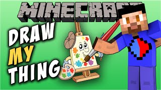 Minecraft DRAW MY THING #11 with The Pack (Minecraft Mini-Game)