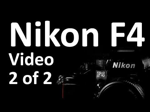Nikon F4 Video Instruction Manual 2 of 2
