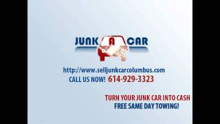 Junk Car Buyer Columbus | Cash for Junk Cars Columbus - Junk A Car