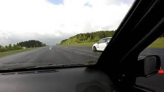 Seat Arosa 1.8t GT28 Boostini vs Golf 6R @ Trackday Vol.5 by MF RS750 Meinerzhagen Dragrace