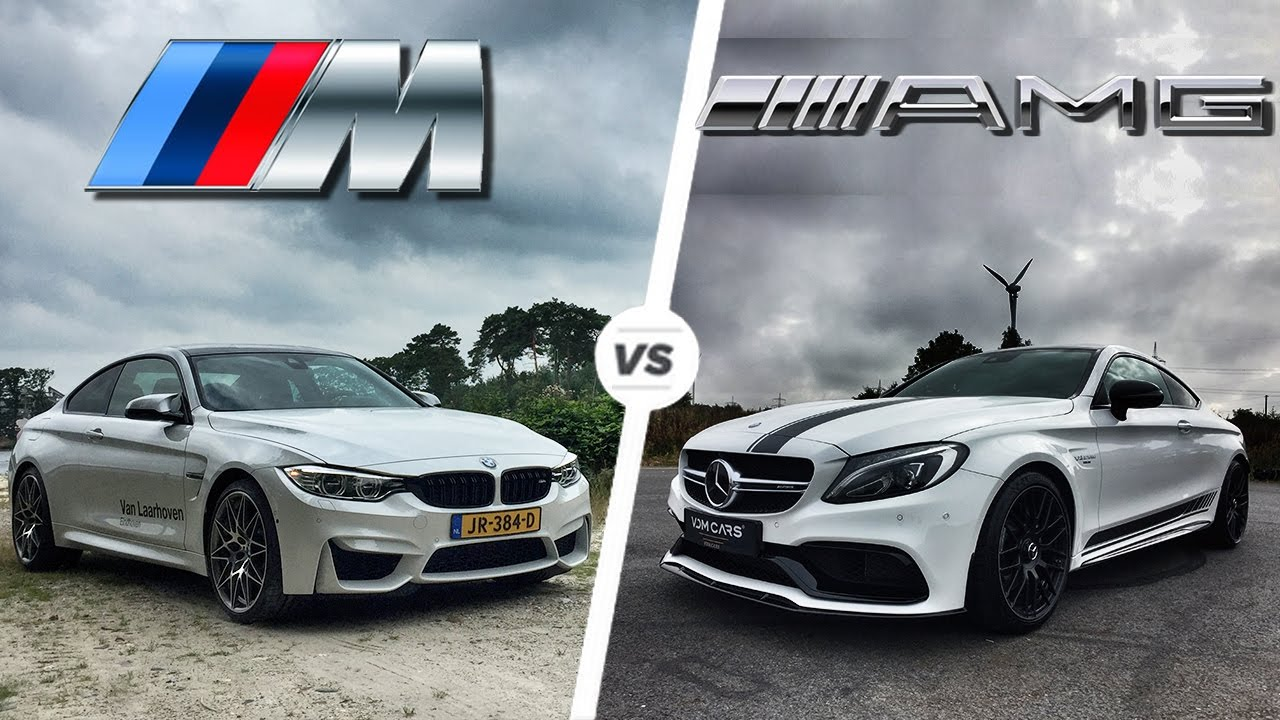 bmw m4 2017 vs mercedes c63 amg coupe 2017 acceleration & top speed