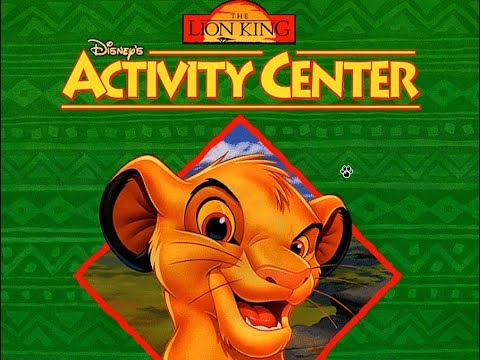The Lion King: Activity Center PC Gameplay