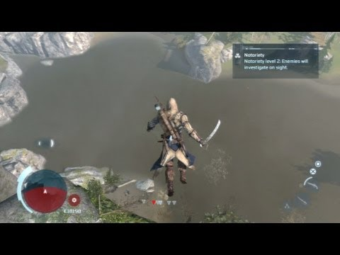 Assassin's Creed 3 - #27 Off the Cliff