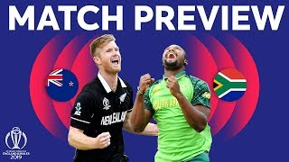 Match Preview - New Zealand vs South Africa | ICC Cricket World Cup 2019