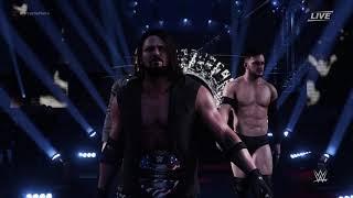 رصاصة نادي مدخل - WWE 2K18 (AJ Styles, فين بالور & كيني أوميغا)