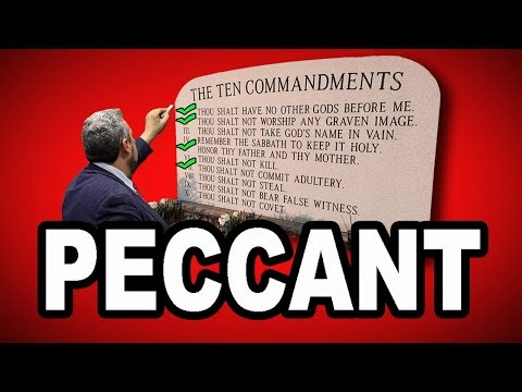 😈 Learn English Words - PECCANT - Meaning, Vocabulary Lesson with Pictures and Examples
