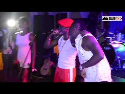 Ebony performs with Asamoah Baby Jet Gyan