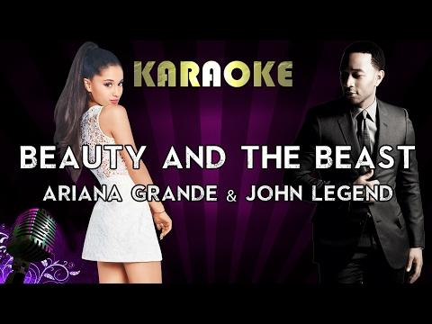 Ariana Grande, John Legend - Beauty and the Beast (Karaoke Instrumental) | Higher Key Version