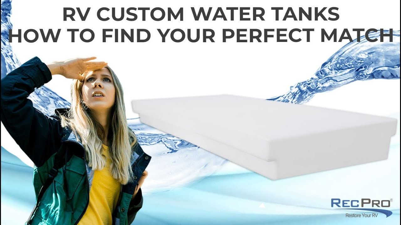 custom rv water tanks