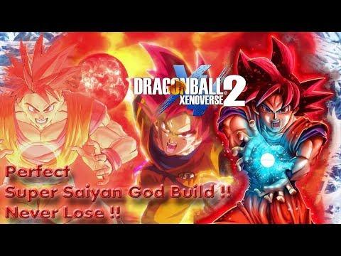 Dragon Ball Xenoverse 2: How To Make The Perfect Super Saiyan God Build !! Never Lose Again !!!!