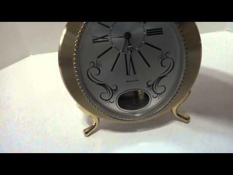 Bulova musical alarm clock