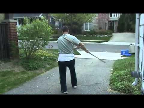 Shaolin White Crane Staff Qi Mei Gun- Detroit Kung Fu Studio
