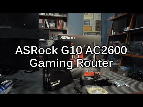 ASRock G10 AC2600 Gaming Router