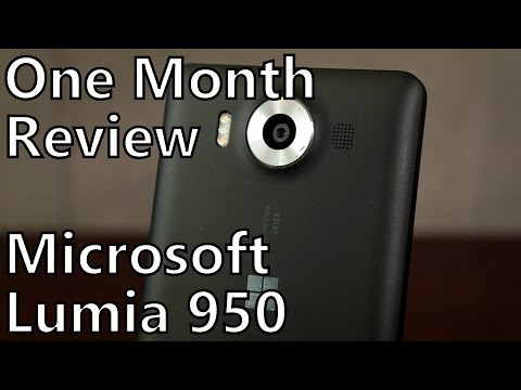 Lumia 950 Review: One Month With Microsoft