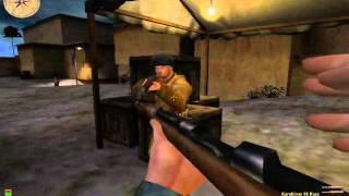MOHAA Deutscher Angriff v0.2 Gameplay Mission 1 part 1