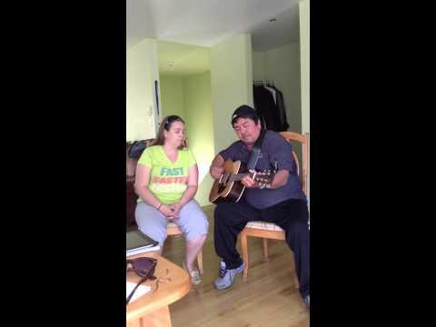 Roger Lee Martin and Nancy Vignola cover of