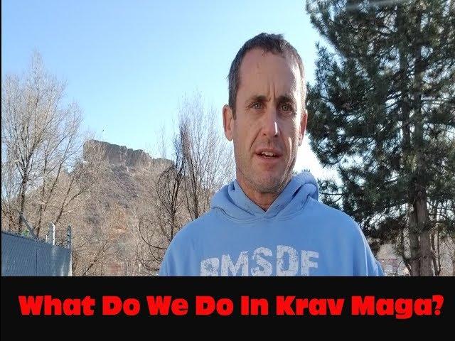 What Do We Do Krav Maga? Castle Rock And Parker Colorado