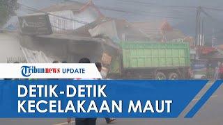 Video Detik-detik Kecelakaan Beruntun Sumedang, Ini Kronologi Tabrakan Maut yang Diawali Truk Dump