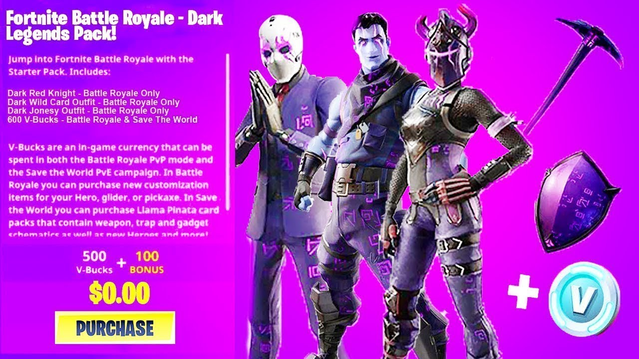 Ingyen Dark Legends Bundle Most Nyereményjáték