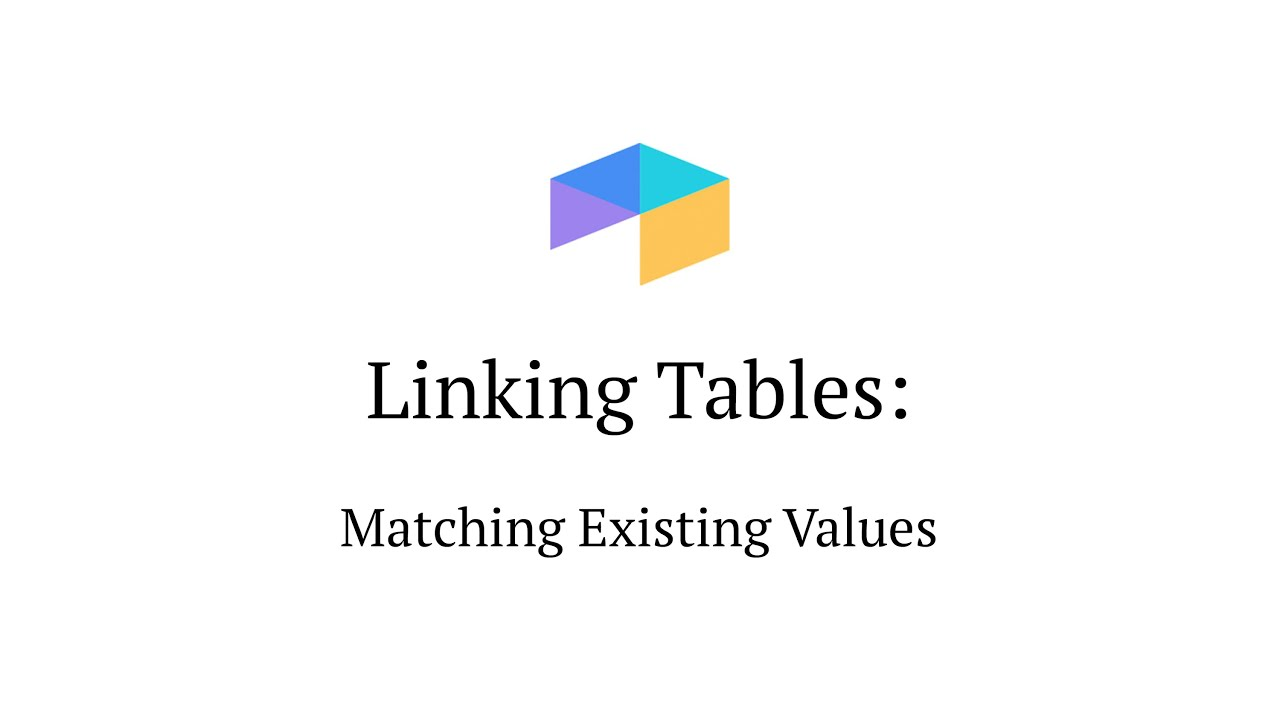 Linking Tables of Matching Values in Airtable