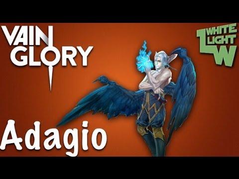 видео: vainglory обзор персонажа adagio от itypok