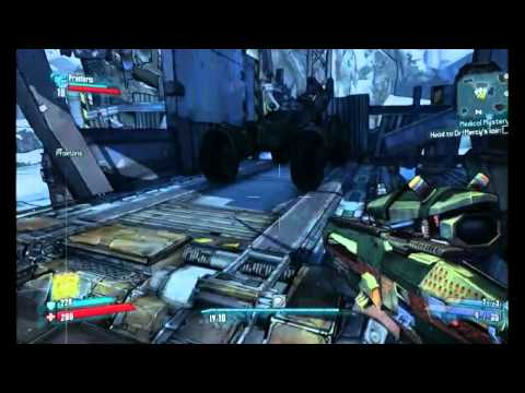 "Borderlands 2. Stone. ""The Name Game."" ""Medical Mystery."""