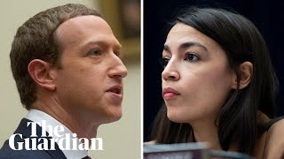 'So you won't take down lies?': Alexandria Ocasio-Cortez challenges Facebook CEO