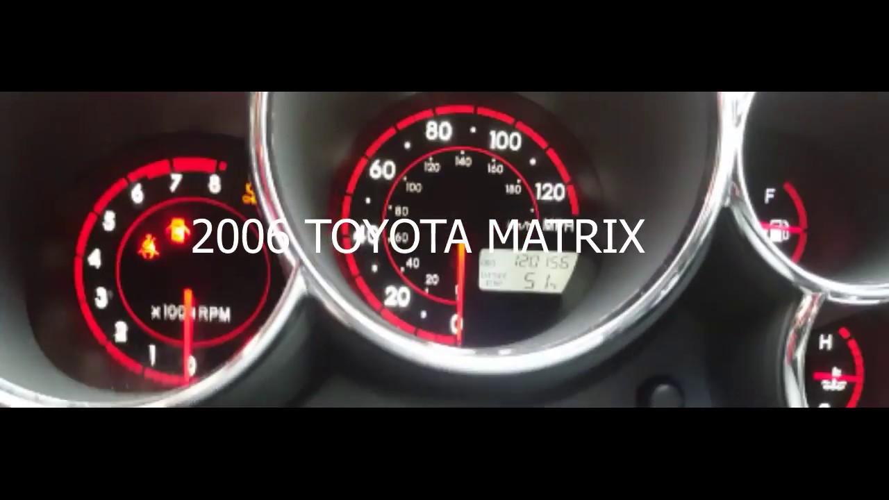 Toyota Matrix Maintenance Light Decoratingspecial Com