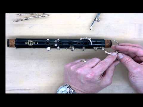 Clarinet Dissassembly and Reassembly