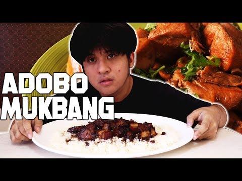 PORK ADOBO | FILIPINO LUNCH | PINOY MUKBANG | Vlog #47