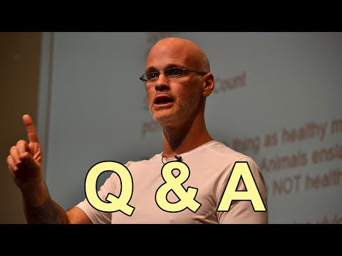 Gary Yourofsky - Q&A Session, New York 2014
