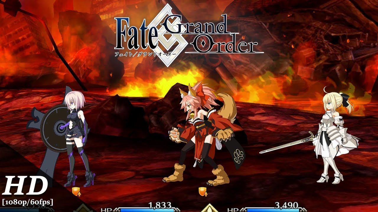 Fate/Grand Order (English) Android Gameplay [1080p/60fps]