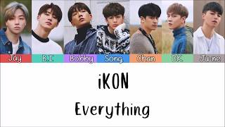 [3.22 MB] iKON - Everything [Lyrics Rom | Indo] Lirik Terjemahan Indonesia