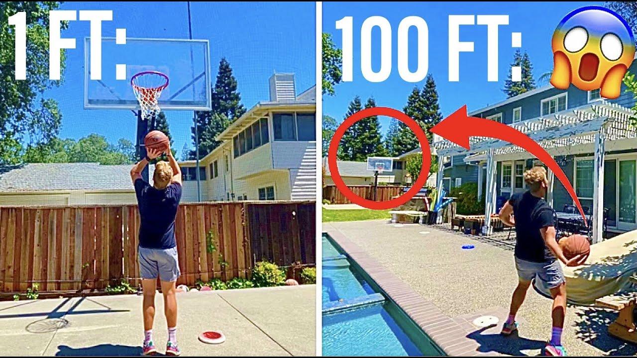 How Far Away can I Make a Basketball Shot?