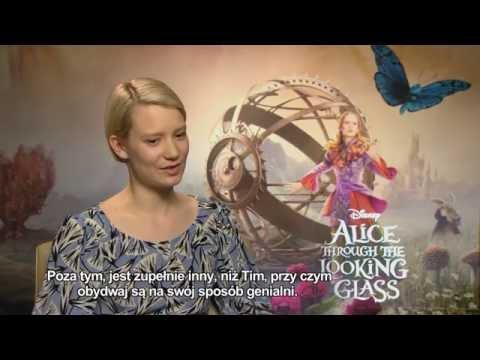 """""""Alicja po drugiej stronie lustra"""": Mia Wasikowska opowiada o swej roli w filmie [epk]"""