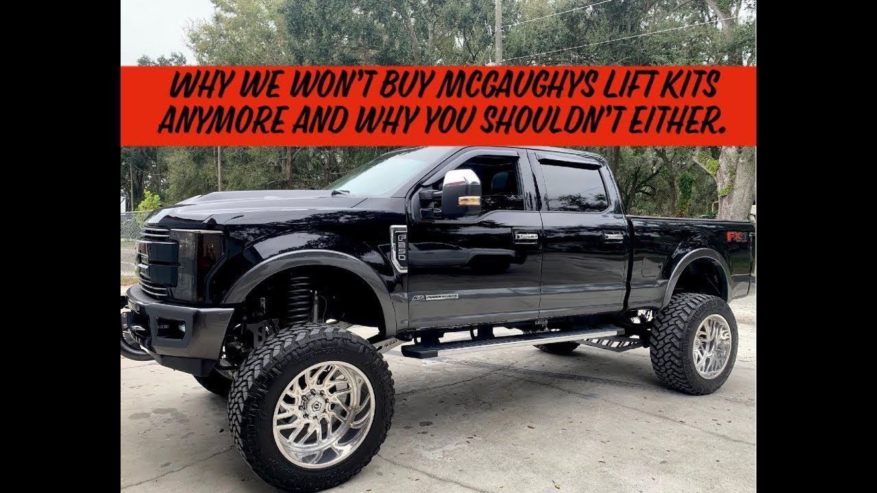 Why we won't buy McGaughys Lift Kits anymore and why you shouldn't either