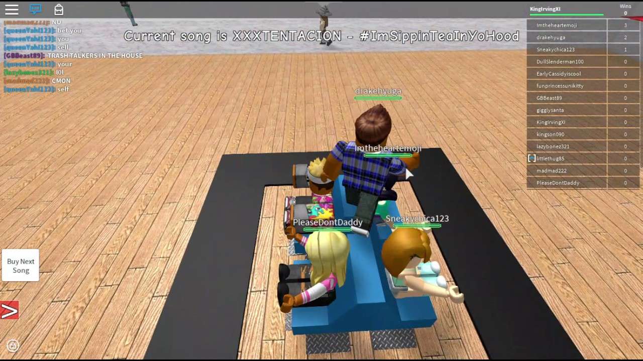 Roblox Musical Chairs with XXXTentacion - YouTube