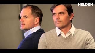Making of Helden Magazine: Frank de Boer en Philip Cocu